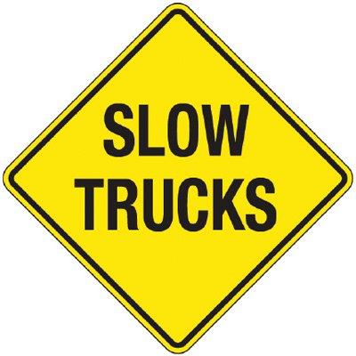 slow trucks